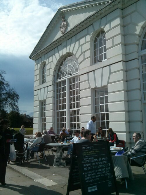 The Orangery Restaurant, Kew Gardens