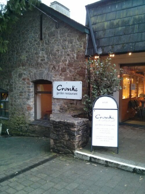 Cranks Garden Restaurant, Dartington