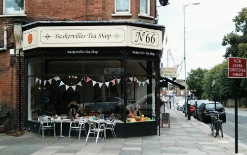 Baskervilles Tea Shop, Palmers Green