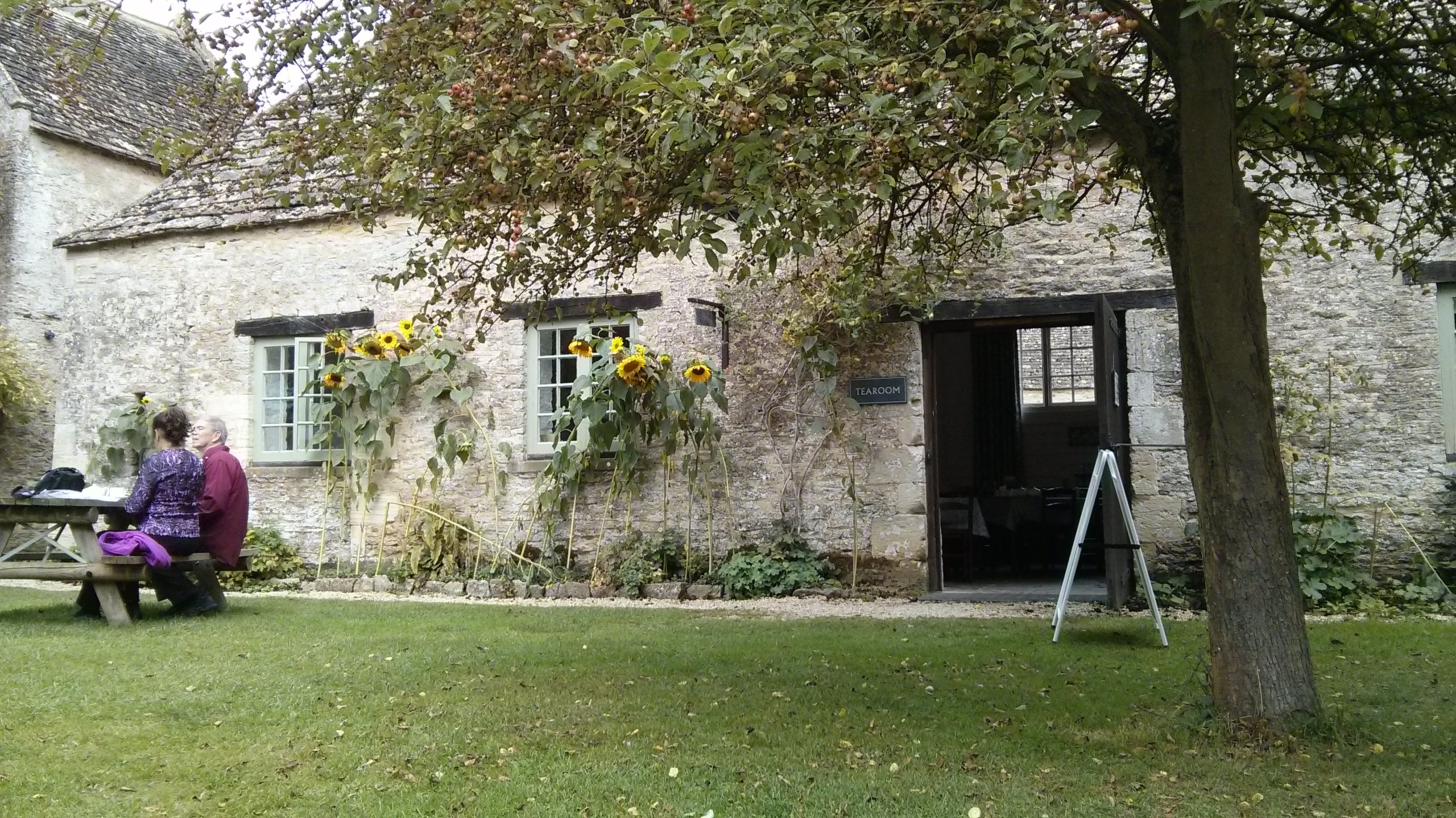 Kelmscott Manor Tearoom, Glos
