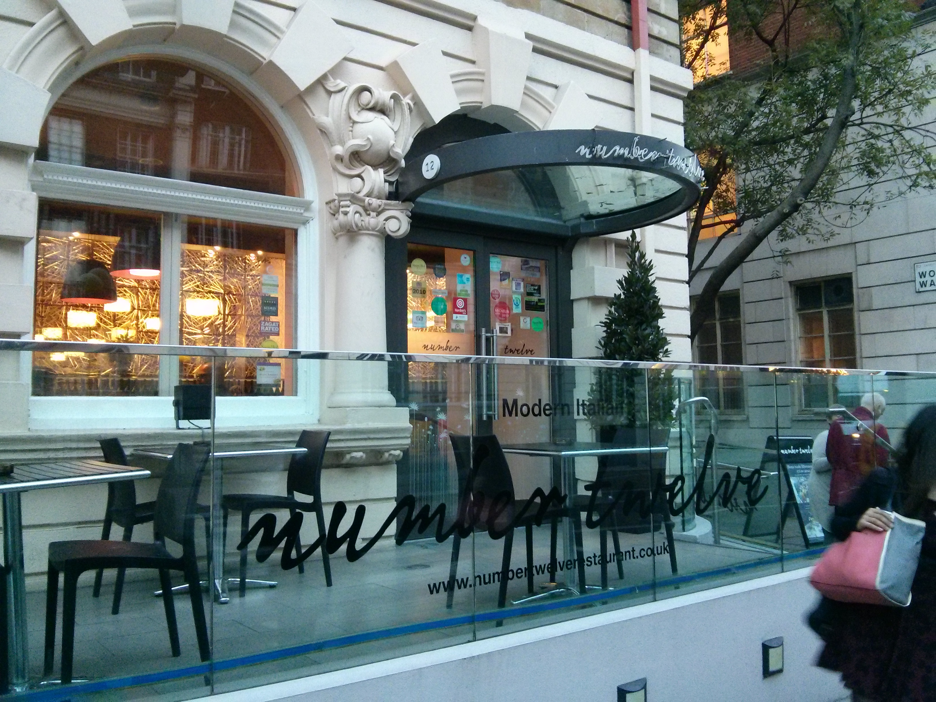 Number Twelve Restaurant, London