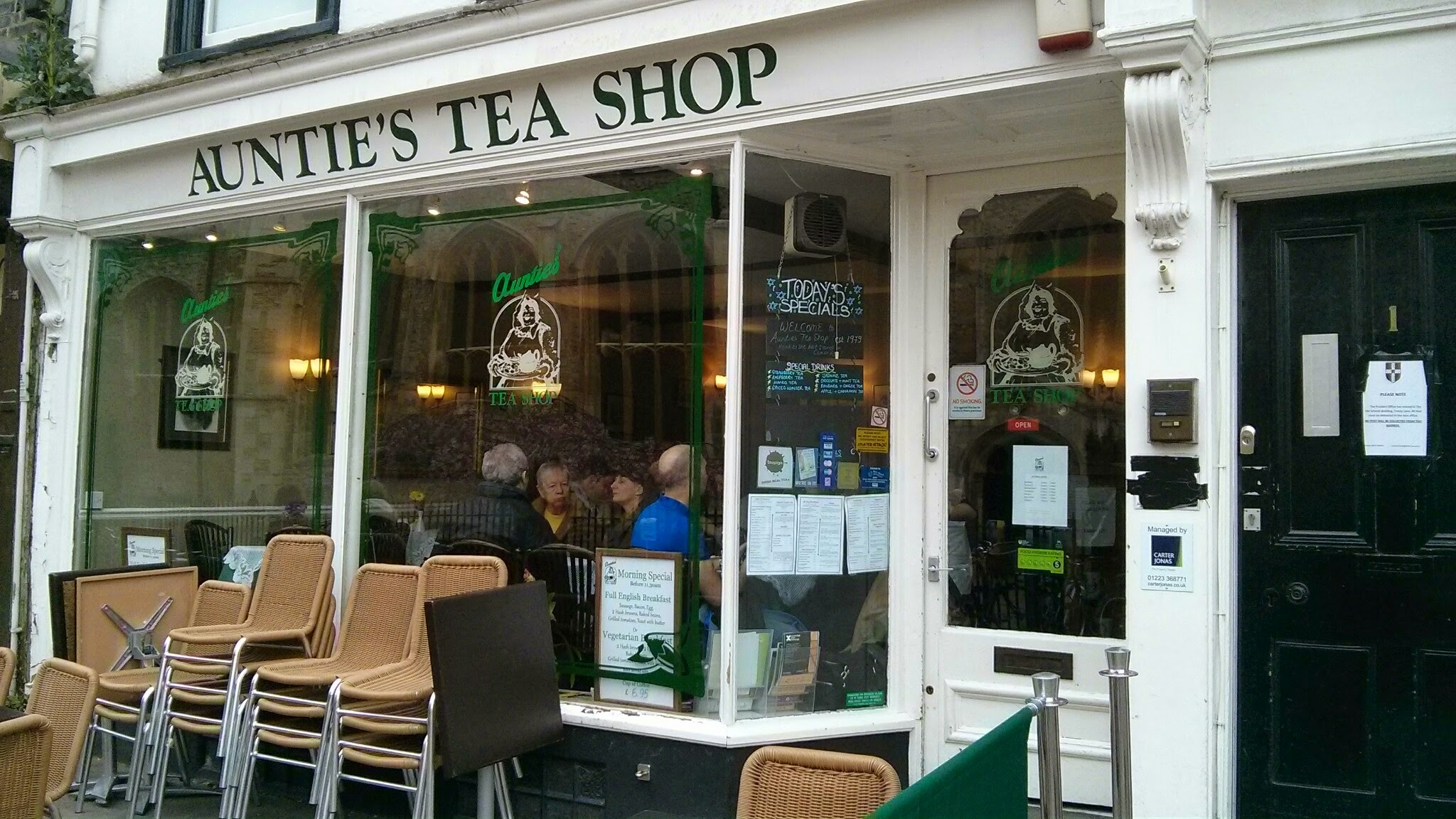 Auntie's Tea Shop, Cambridge