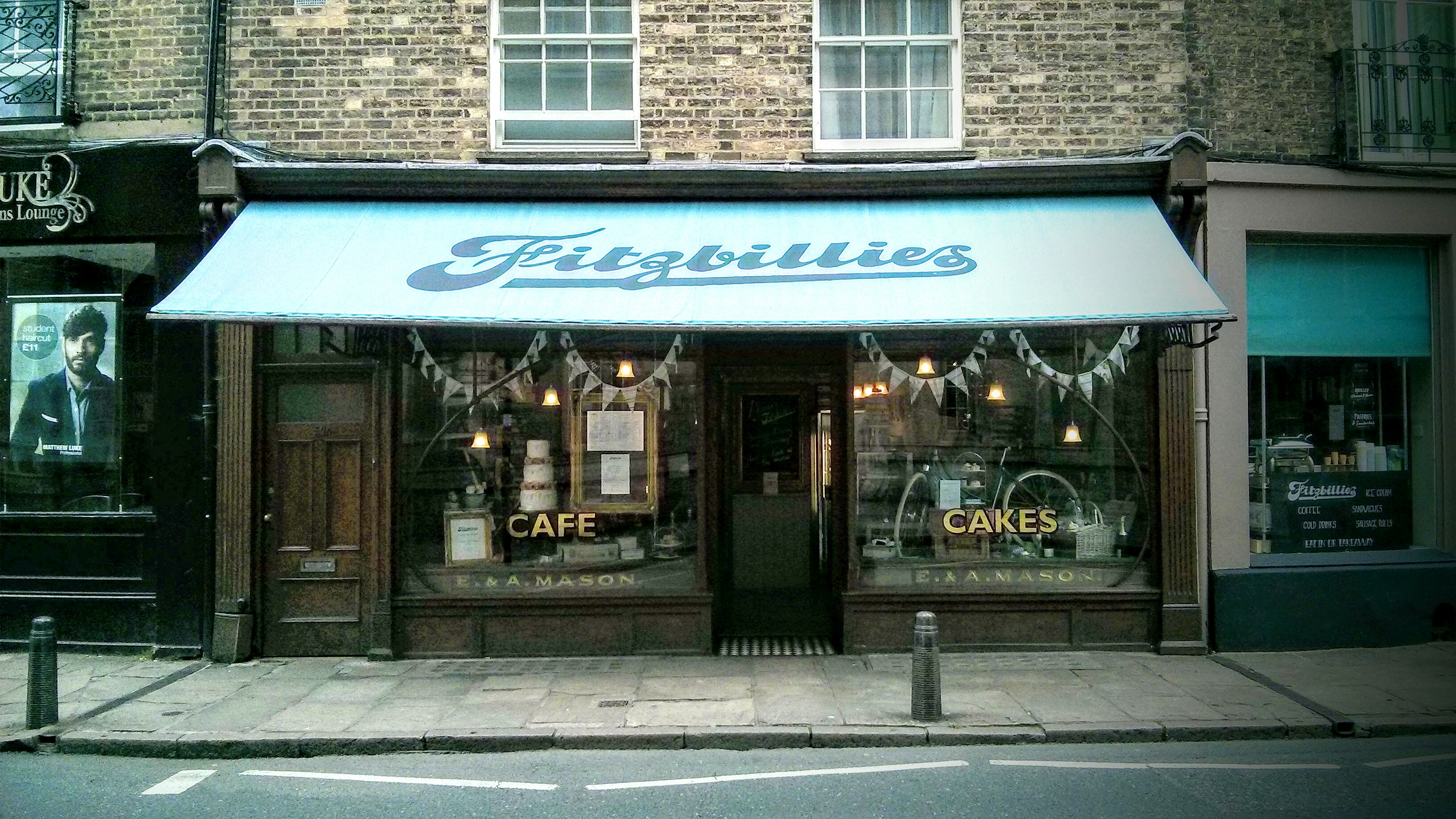 Fitzbillies, Cambridge