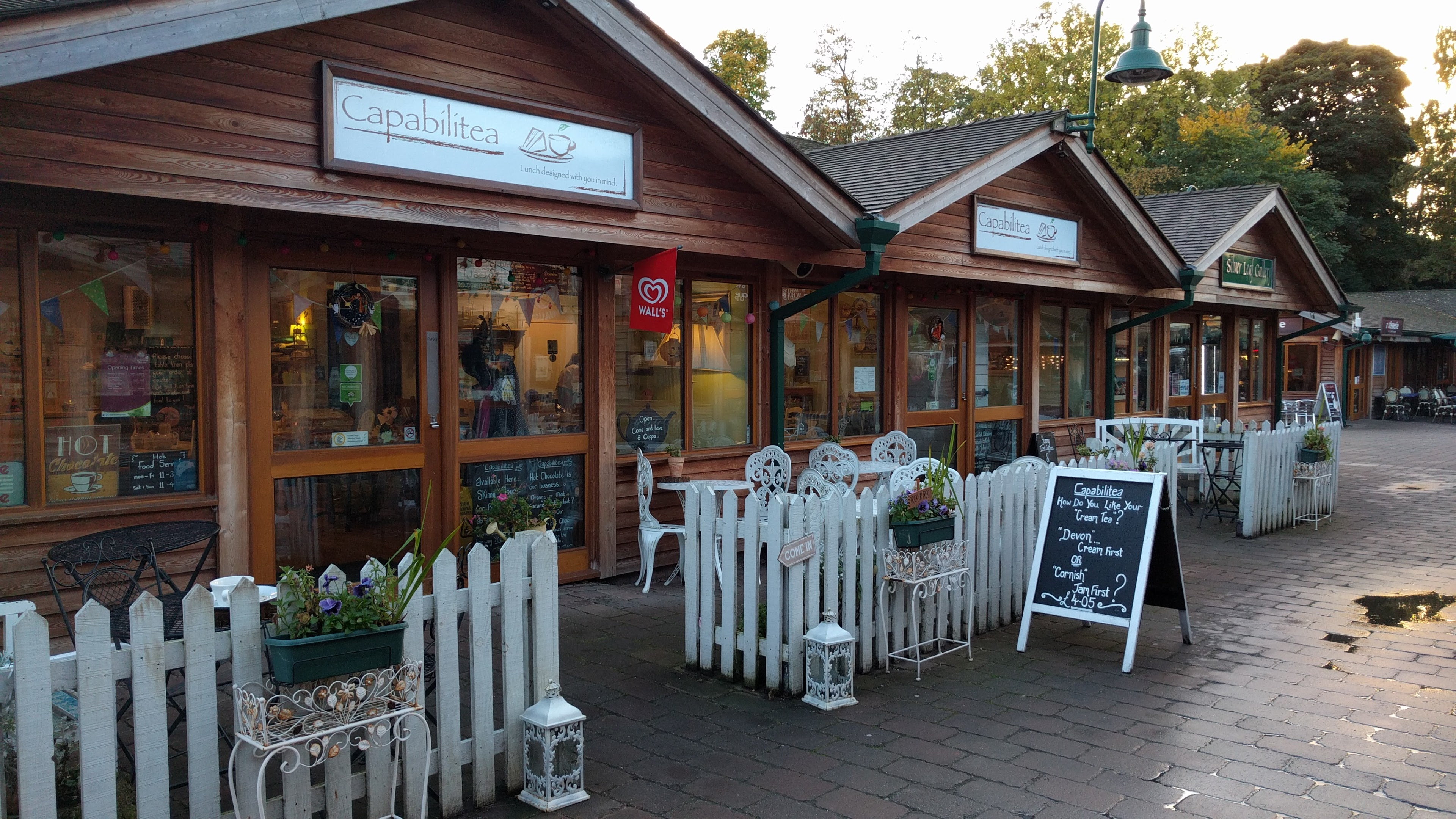 Capabilitea Tea Rooms, Trentham