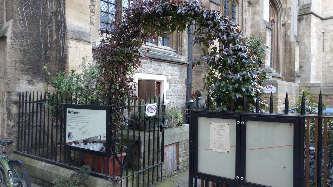 Vaults And Garden Cafe, Oxford