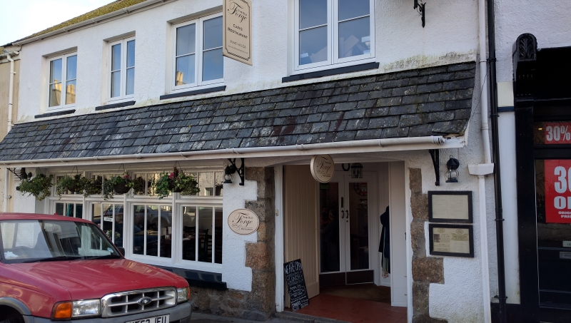 The Old Forge Caffe & Restaurant, Chagford