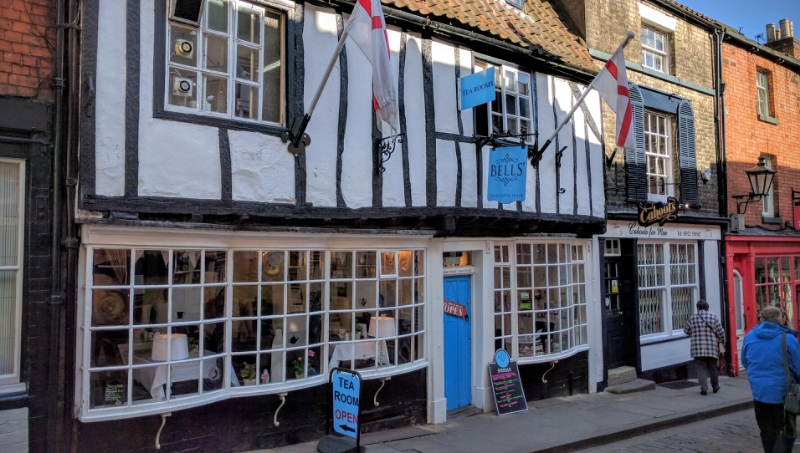 Bells' Tea & Coffee House, Lincoln