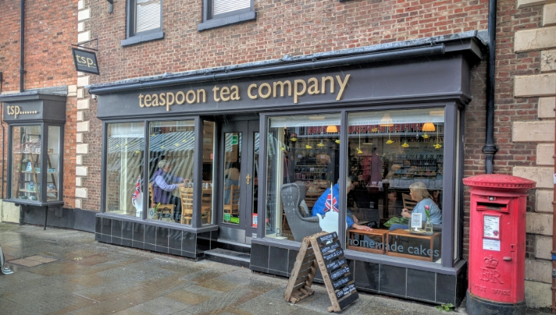 Teaspoon Tea Company, Grantham