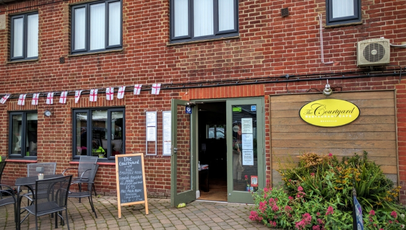 The Courtyard Restaurant & Cafe, Faversham
