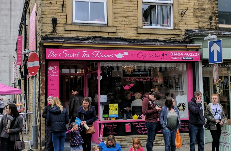 The Secret Tea Rooms, Brighouse