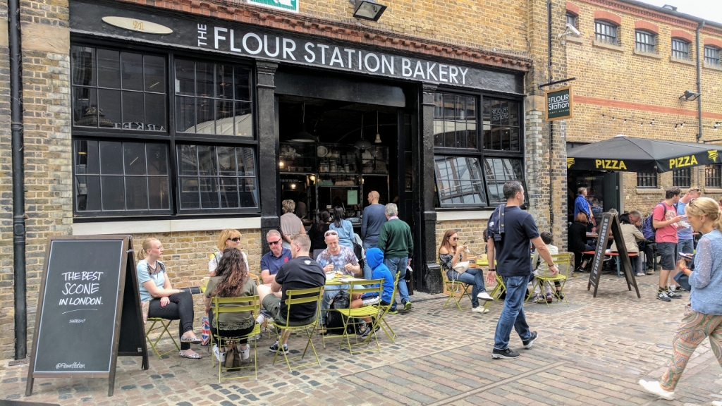 The Flour Station Bakery, Camden Market