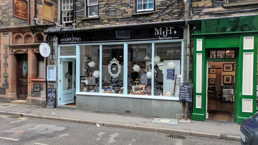 Mr H's Tearoom, Ambleside